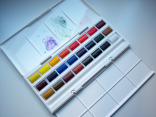 Winsor & Newton Cotman Watercolour 24 Whole Pan Studio Set