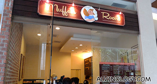 The restaurant signboard back in 2011, still the same now in 2014.