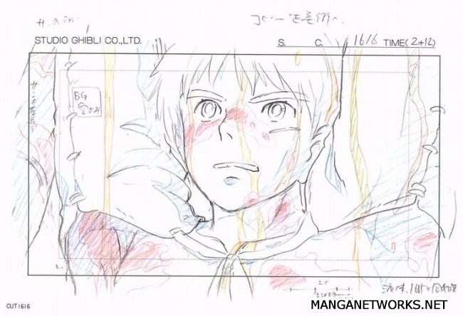 32306821433 9dd6af09c9 o 16 Storyboards của Studio Ghibli sẽ khiến bạn muốn xem lại Movie ngay lập tức !!