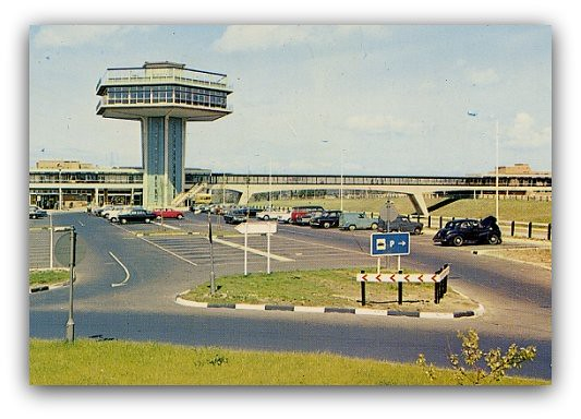 The New Service Station at Forton
