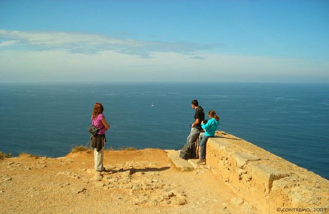 La familia que se despeña unida... (Cabo Espichel, Sesimbra, Portugal)