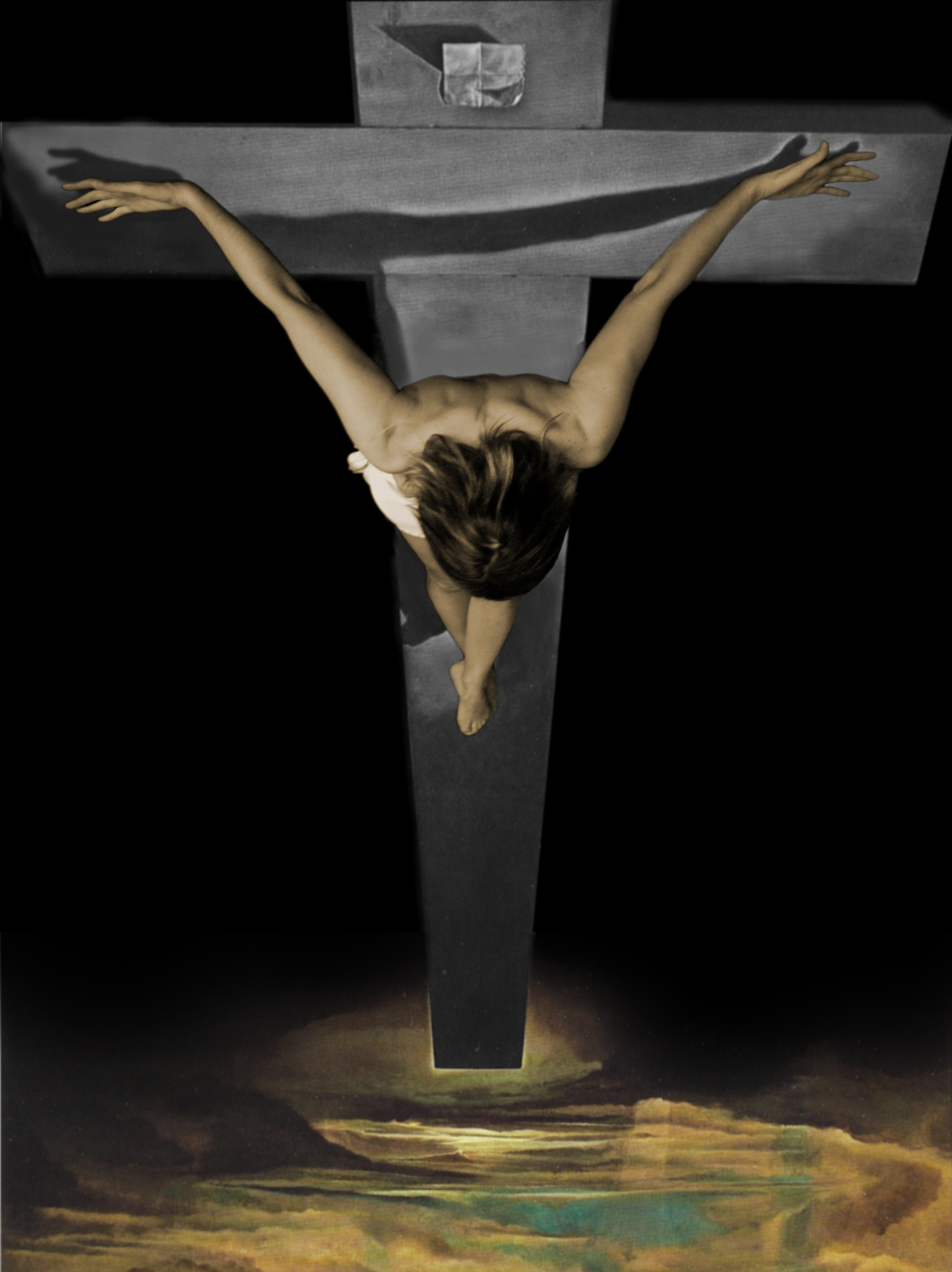 salvador dali christ of st john of the cross Works by marcel duchamp will be compared and contrasted with those of dali - but nothing can possibly compare with christ of st john of the cross it leaves me incredulous that some people don't even know who salvador dali was.