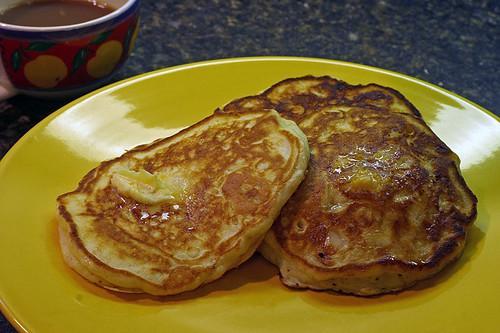 How to make flapjacks pancakes fluffy paris cathcart for Award winning pancake recipe
