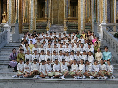 World Tipitaka & Siam Sam Tri School in Bangkok