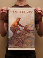 Knowledge Wins; Wikipedia is Free