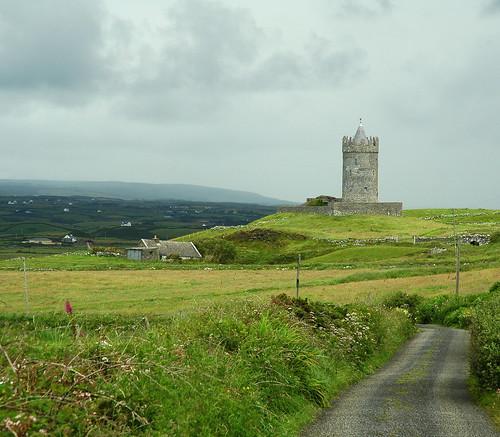 ireland paisajes clare d70 doolin verano irlanda 2007 castillos torres countyclare doonagorecastle fpepix