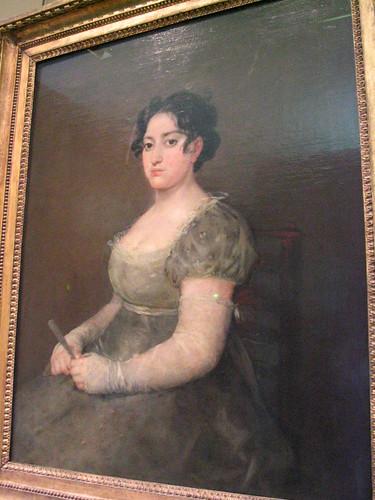 dama in grigio di Goya