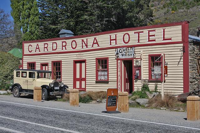 Famous Cardrona Hotel New Zealand