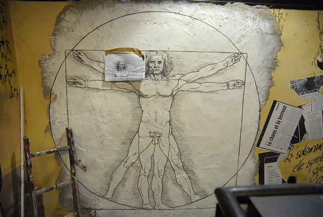 L'Homme de Vitruve, Ecce Homo _DDC6008