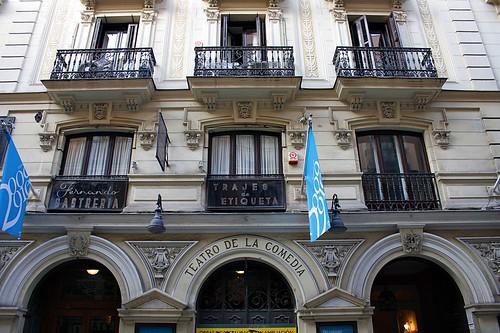 Teatro de la Comedia. Calle Príncipe. Madrid