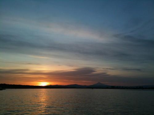 morning oregon sunrise portland fishing ben salmon columbiariver