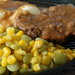 Meatloaf, Succotash, Mashed Potatoes&Gravy
