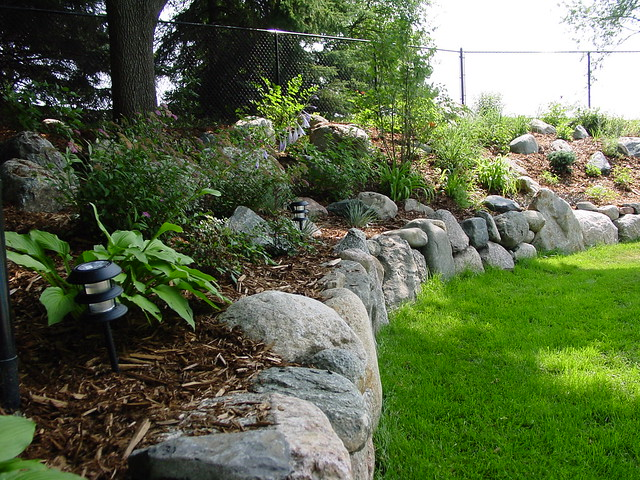 Fieldstone Walls Landscaping : Fieldstone boulder wall flickr photo sharing
