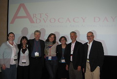 California Contingent, Arts Advocacy Day 2010