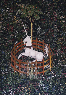 The hunt of the unicorn, tapestry #6, Flickr Creative Commons
