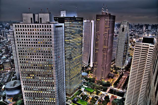 Dazzling Heights of Tokyo