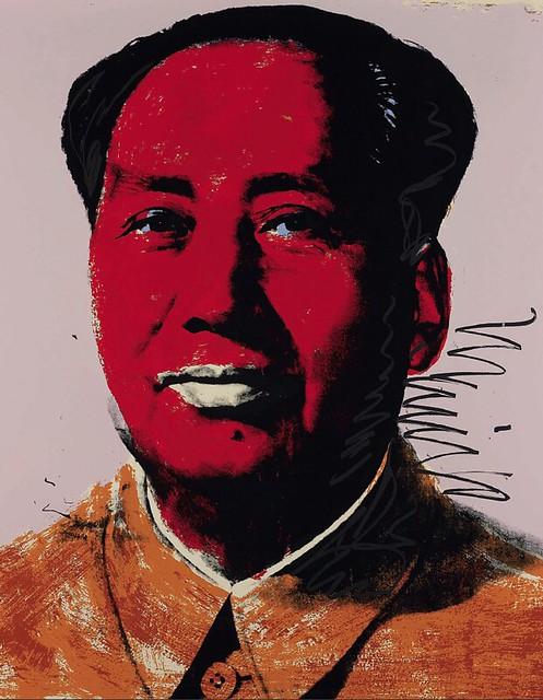 [ W ] Andy Warhol - Mao (1972)