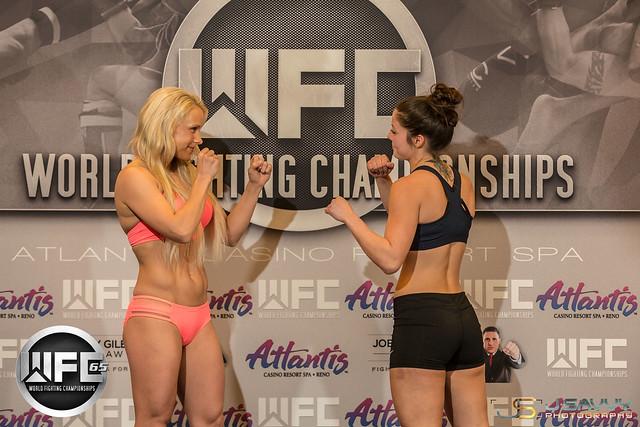 WFC 65 Weigh-Ins at Atlantis Casino Resort Spa 2/17/17