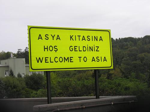 Üdvözöljük Ázsiában!