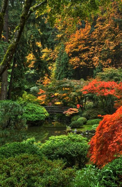 Portland Japanese Garden Portland Oregon Flickr