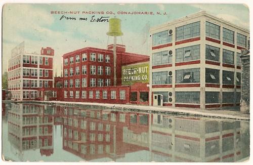 Vintage postcard Beech-Nut packing Company, Conajoharie, New Jersey - nice card!
