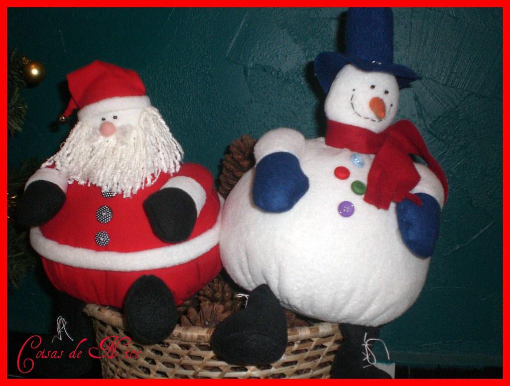 Noel e Snow feliz