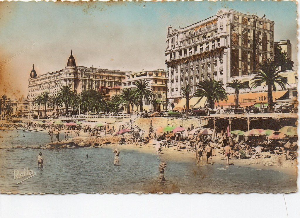 Le Palais Miramar et le Carlton Hotel