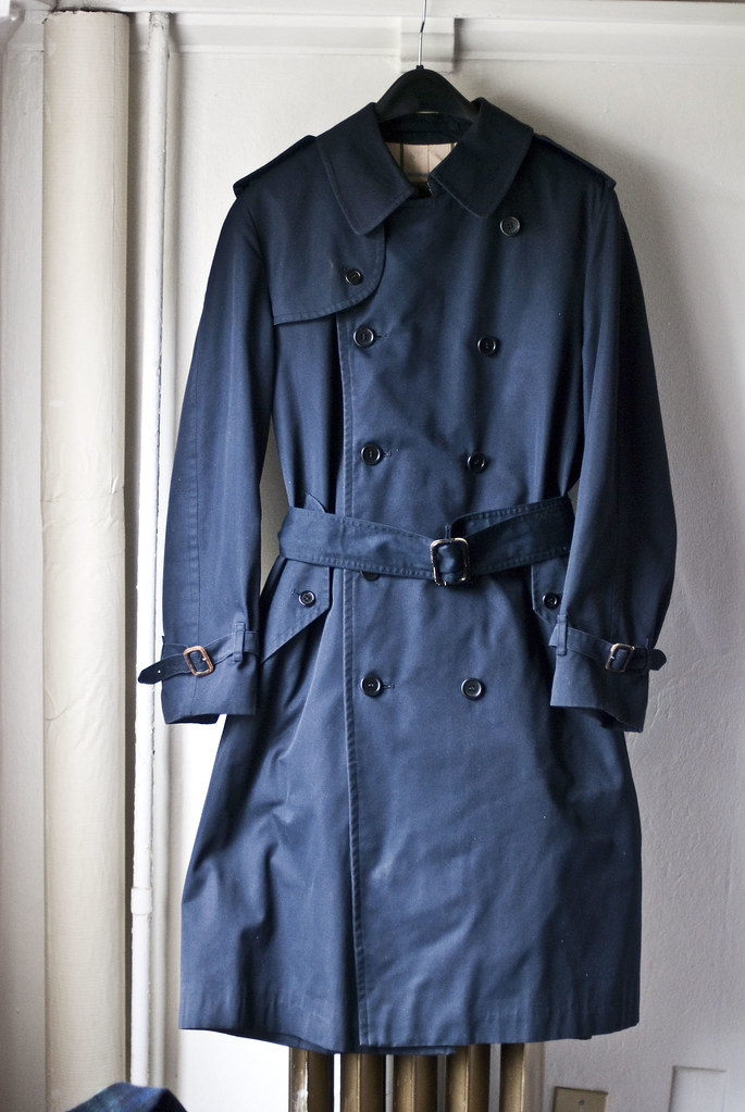 87c389f90c98 ... Vintage Burberry Trench Coat Made in England