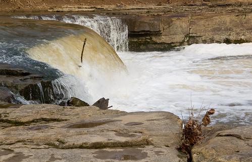 waterfall falls kansas elkriver elkfalls