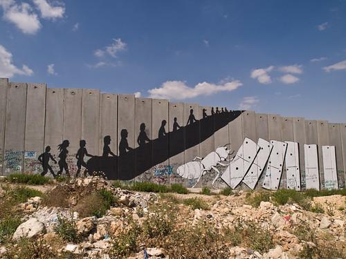PalFest 2008: Bethlehem wall graffiti