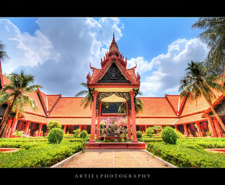 National Museum of Cambodia, Phnom Penh :: HDR