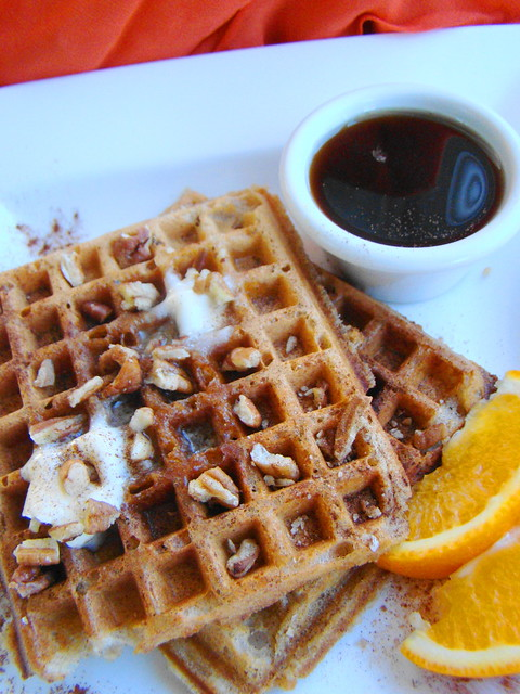 Pumpkin Pie Waffle | Just when you thought that the holidays ...
