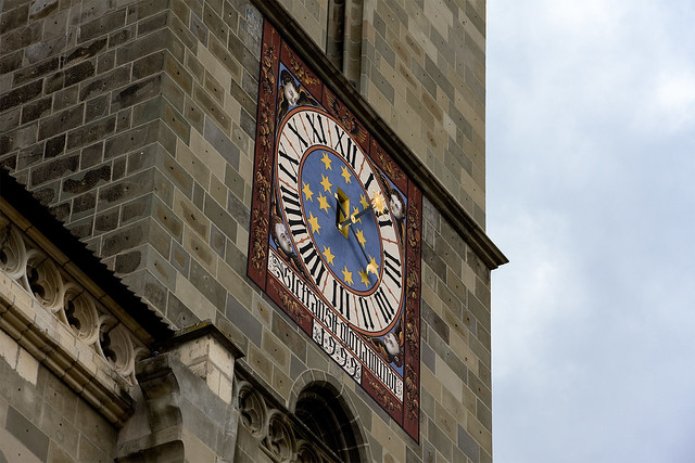 Gothic styled clock on tower flickr photo sharing for Tattoo shops junction city ks