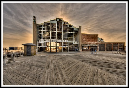 Old Casino - Asbury Park Boardwalk by shaporama