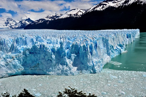 The North Face of the Moreno Glacier