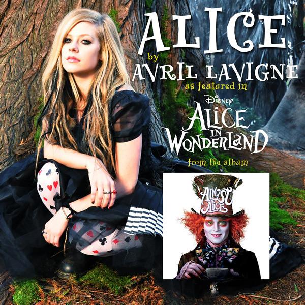Avril Lavigne - Alice in Wonderland (Almost Alice) [Single]