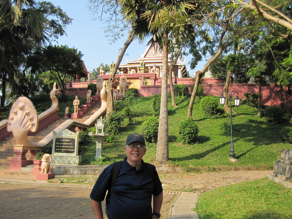 Me at Wat Phnom