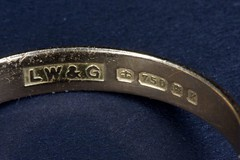 wedding ring hallmark