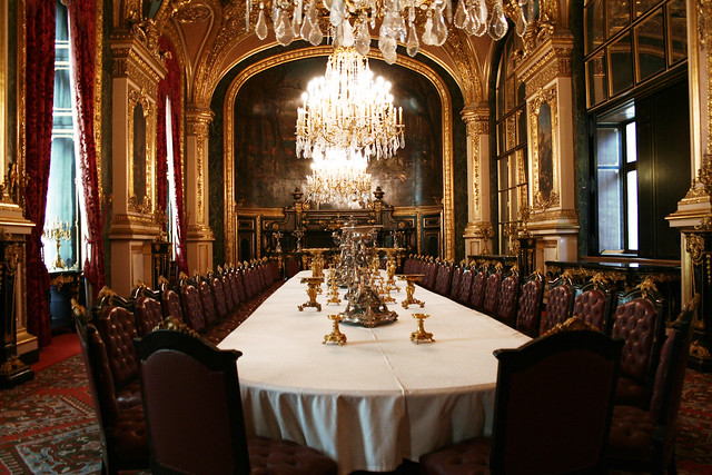grand dining room royal aparments of napoleon iii louvre flickr