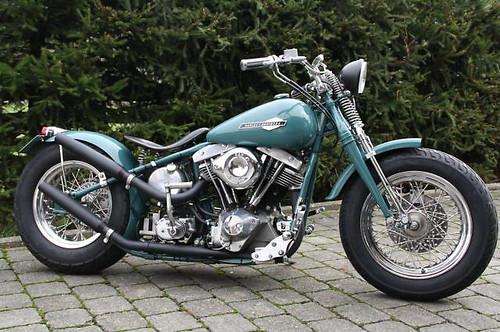 Harley Davidson Starrahmen Bobber 1956