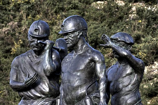 Los mineros