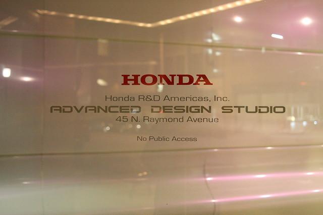 Honda advanced design studio