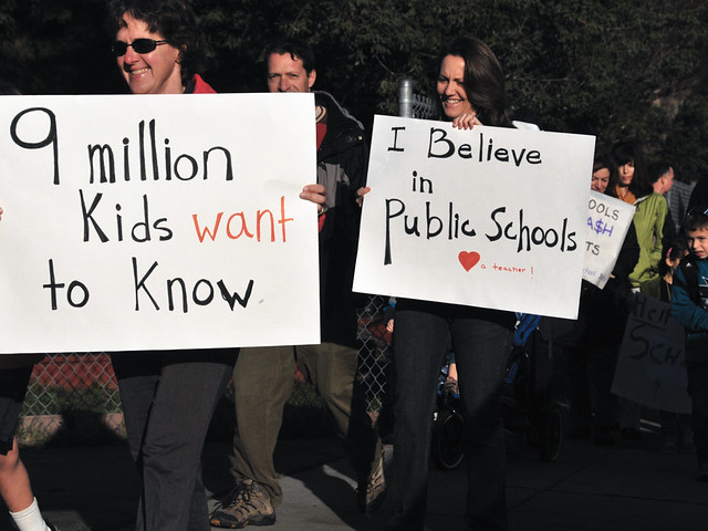 9 million kids want to know - March4 Day of Action from Flickr via Wylio