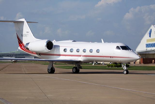 Gulfstream Aerospace G-IV s/n 1387 - N4387 at KHOU