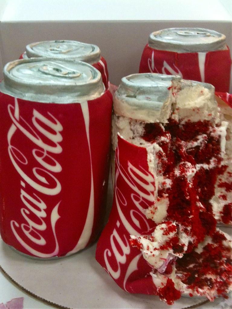 Coke Can Cake
