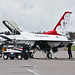 United Stated Air Force - Lockheed F-16CJ Fighting Falcon