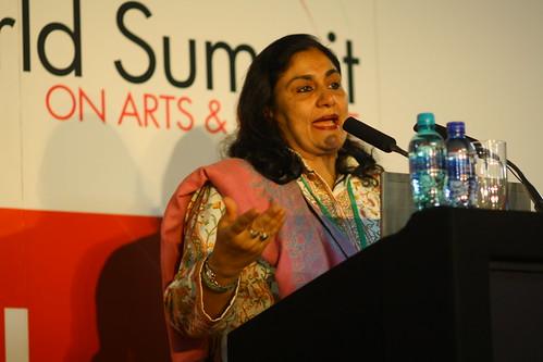 Madeeha Gauhar (Pakistan), 4th World Summit on Arts & Culture
