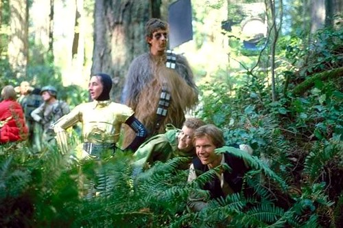 Endor behind the scenes