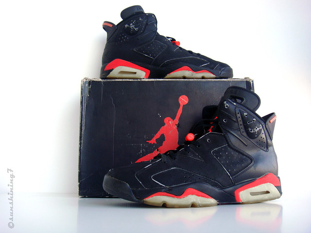 eda61c031640 ... Sunshining7 - Nike Air Jordan VI - 1991 - OG Black Infrared III