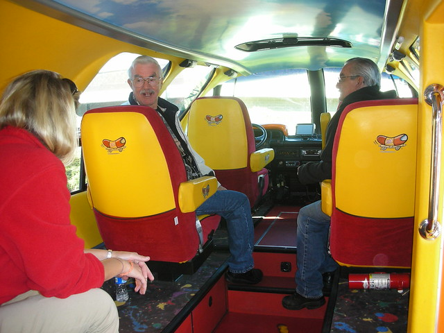 inside oscar mayer weiner car flickr photo sharing. Black Bedroom Furniture Sets. Home Design Ideas